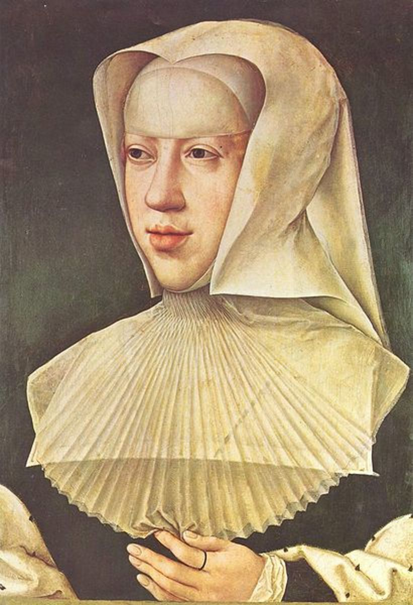 Margaret of Austria, who commissioned tapestries from the de Pannemaeker family.
