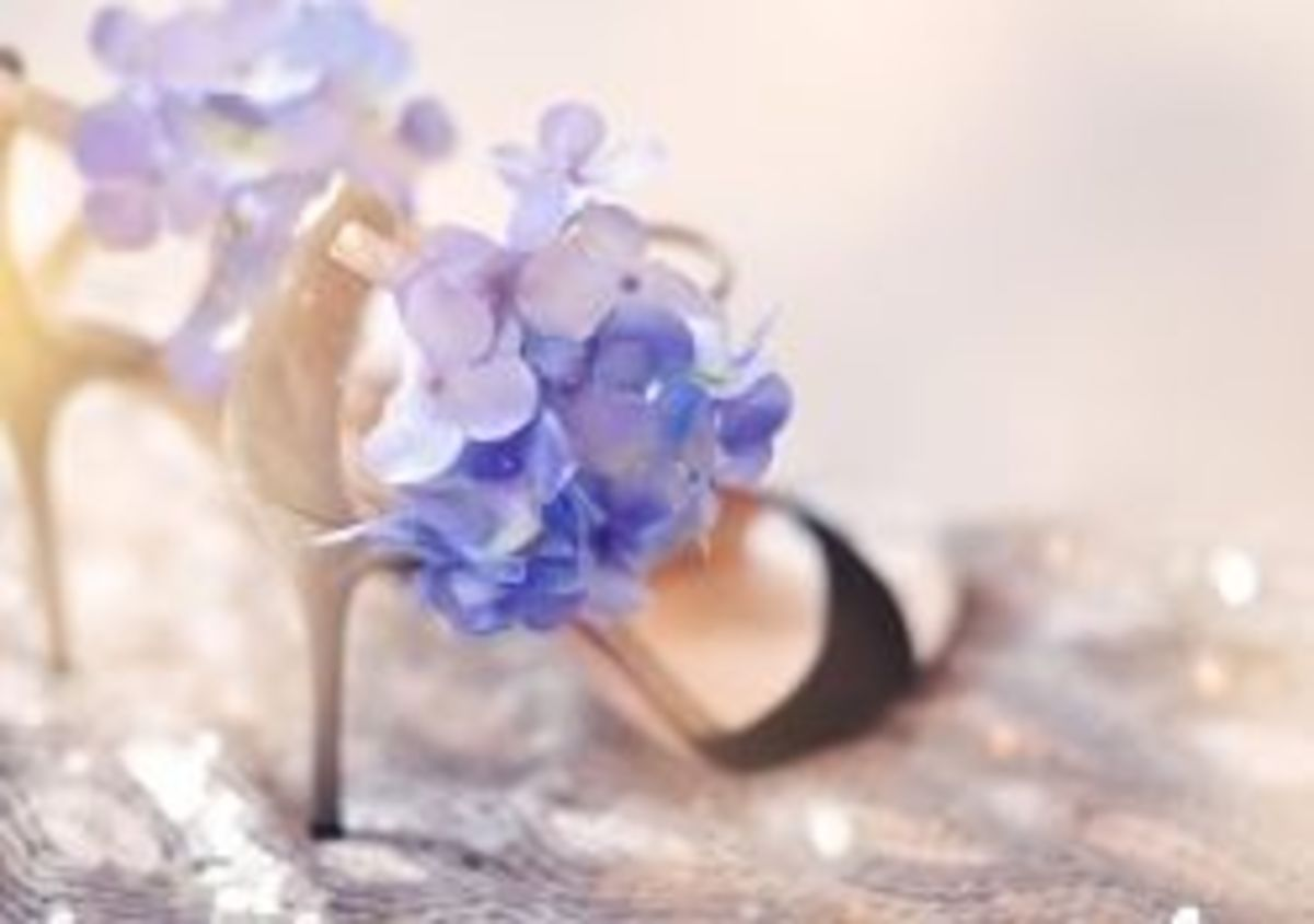 DIY Flower Hair Clips for Shoes