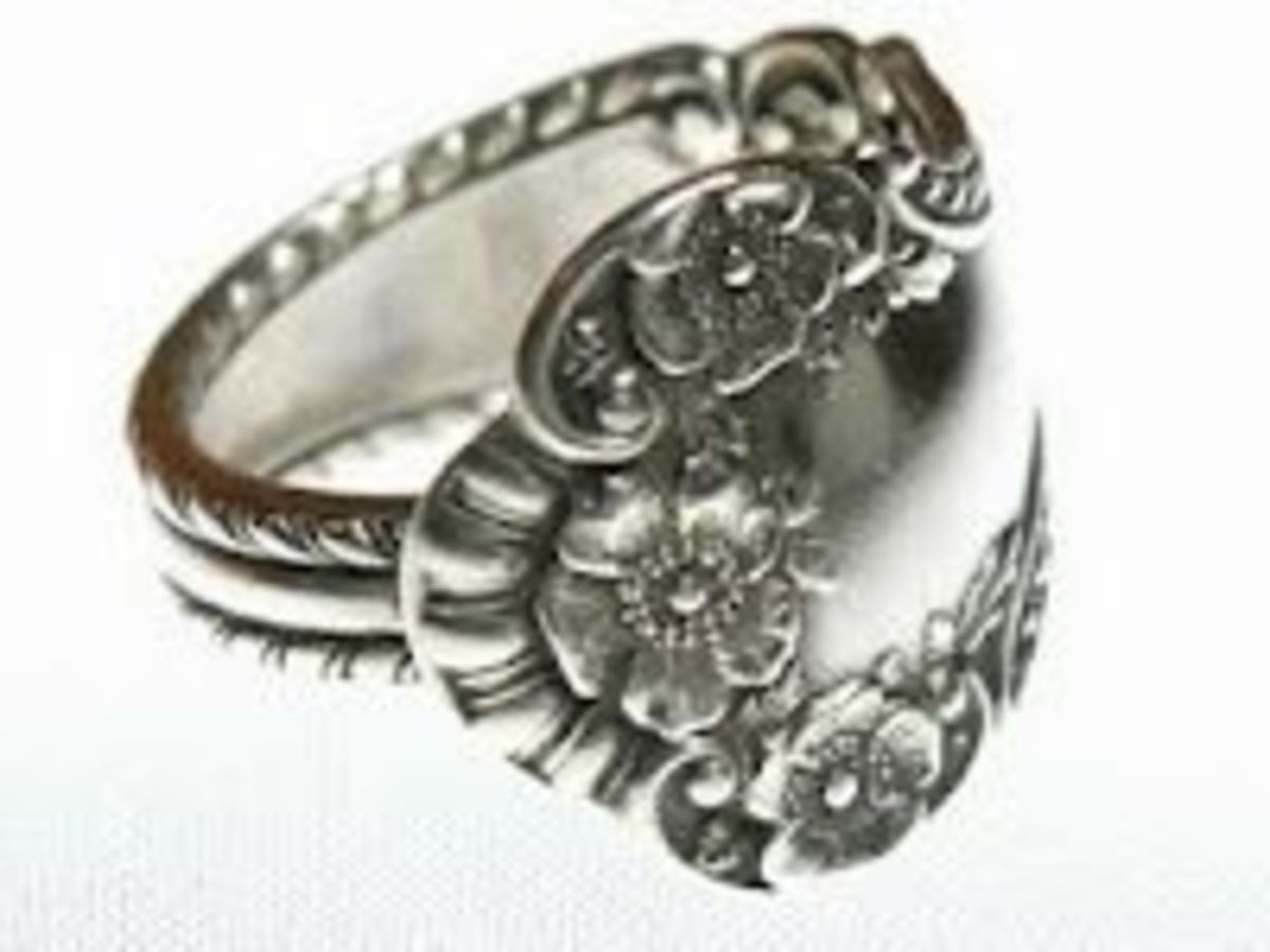 DIY Ideas - Spoon Ring Tutorial