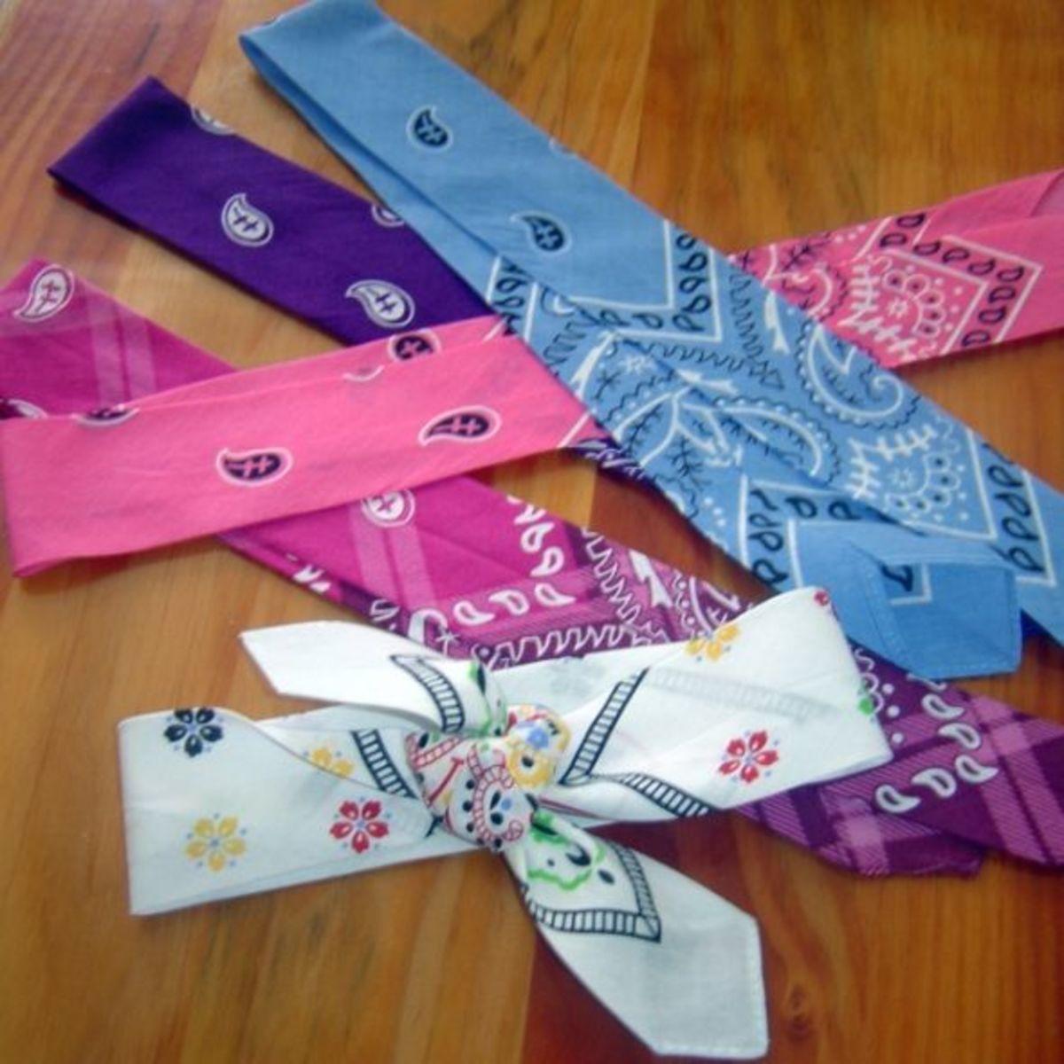 Small Gift Ideas - Hair Bandana Ties