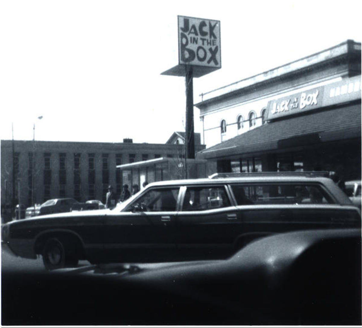 The old Jack in the Box, was at the corner of 3rd & Congress st.
