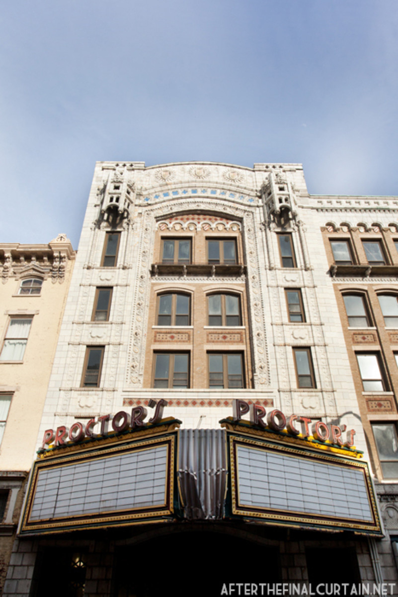 The Old Proctors Theater On 4th St., Troy NY