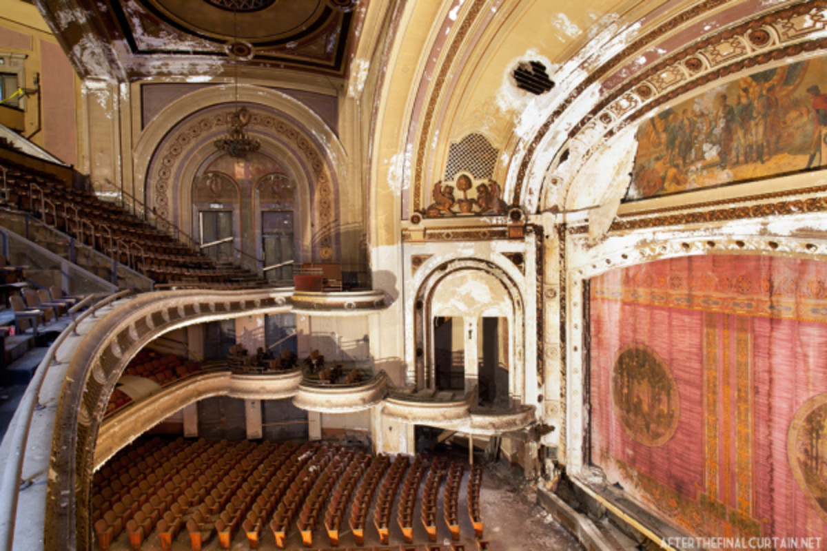 The Old Proctors in such dis repair. It is a real shame, because it was really nice back in the day.
