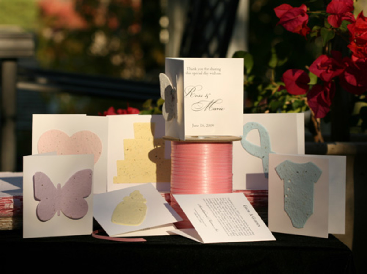 Plantable invitations!