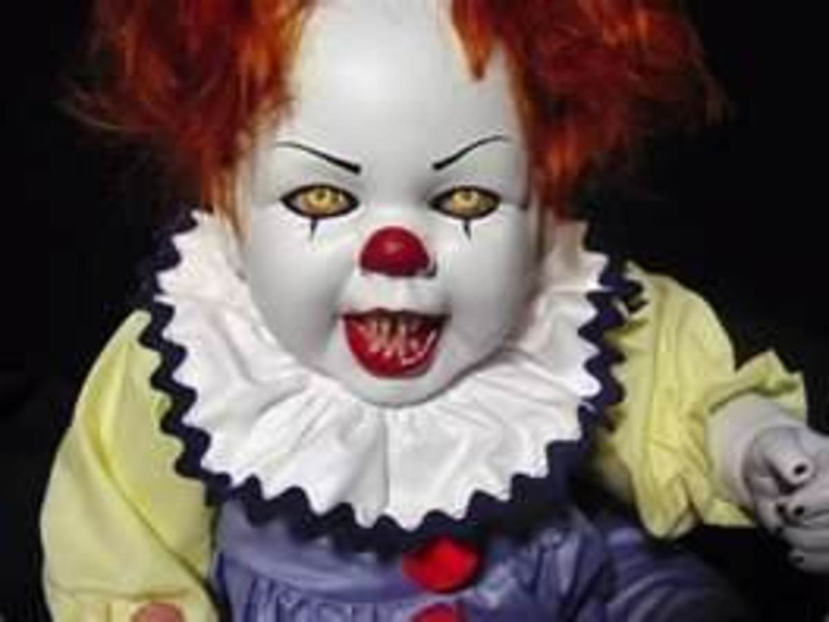 This doll scares the daylights out of me.