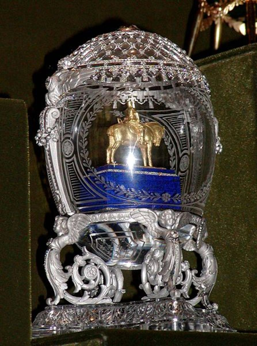 Alexander III Equestrian Egg