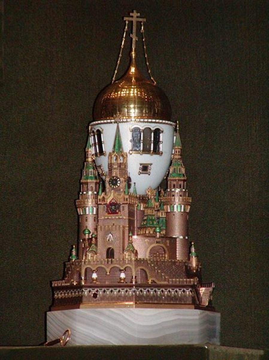 Moscow Kremlin Egg 1906