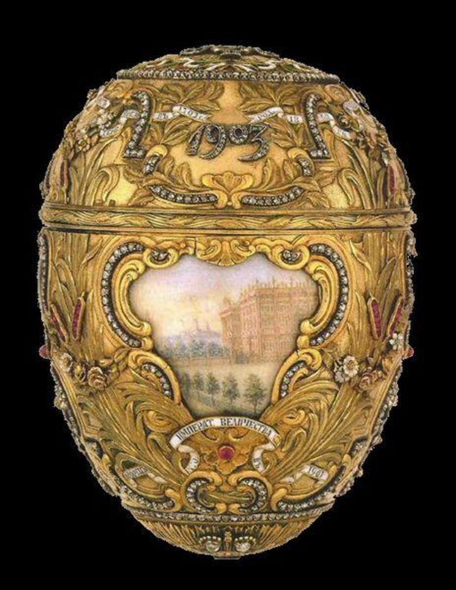 Imperial Faberge Eggs  - made for the Russian Imperial Families