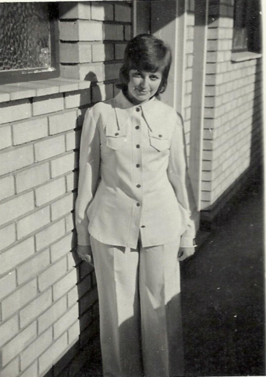 At my Ascot Flat (1970s)