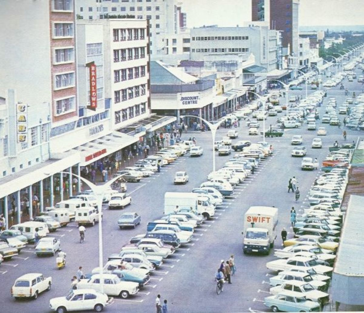 Wide Street of Bulawayo