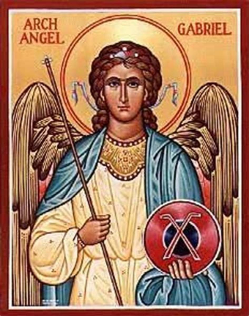 This is Archangel Gabriel my protector that God and Archangel Michael has assigned to accompany me in the negative circles. I don't see her but she talks to me and tells me what to do, when I need to be told.