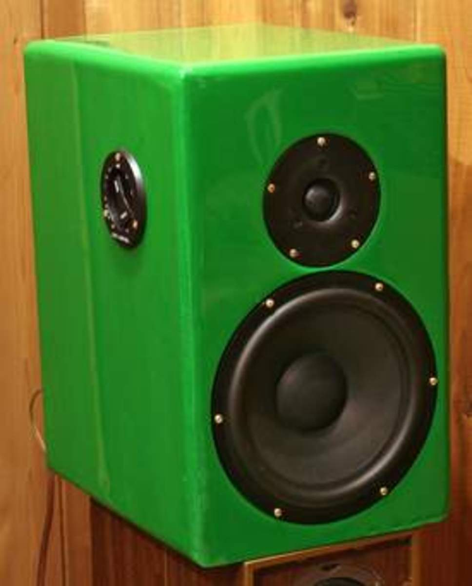 Voices through vorious loud speakers