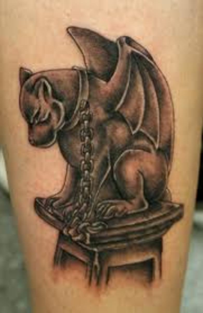 Gargoyle Tattoo Designs and Meanings
