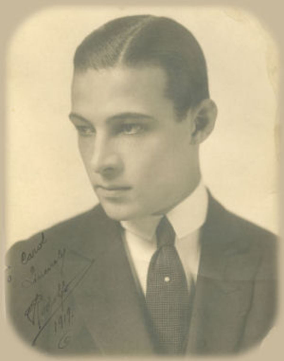 Rudolph Valentino, The Sexiest Actor Of All Time