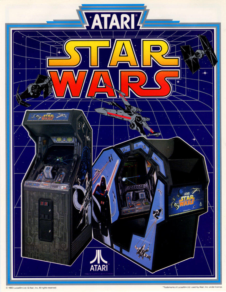 Star Wars by Atari - Classic Arcade Games Played & Reviewed