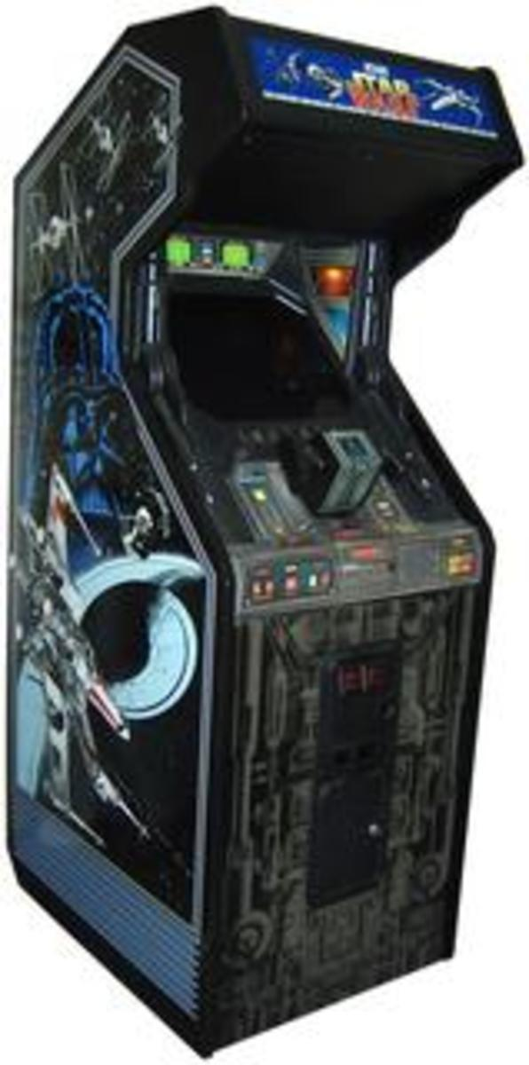 Star Wars Upright Cabinet