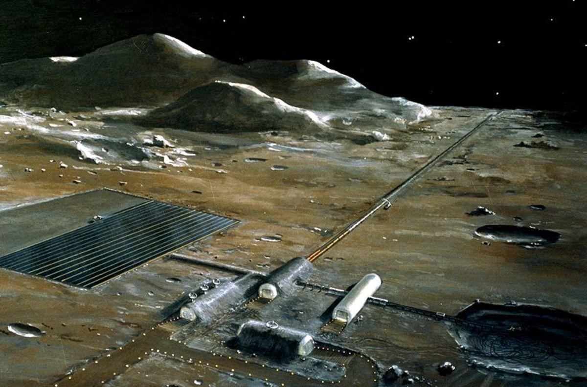 A Nasa Moon Base?