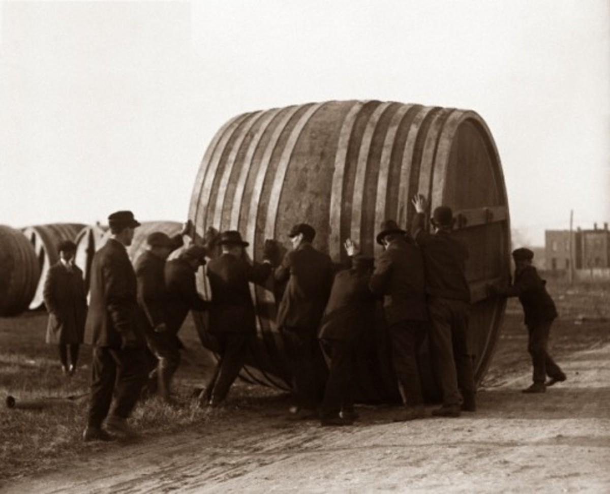 Porter barrel.
