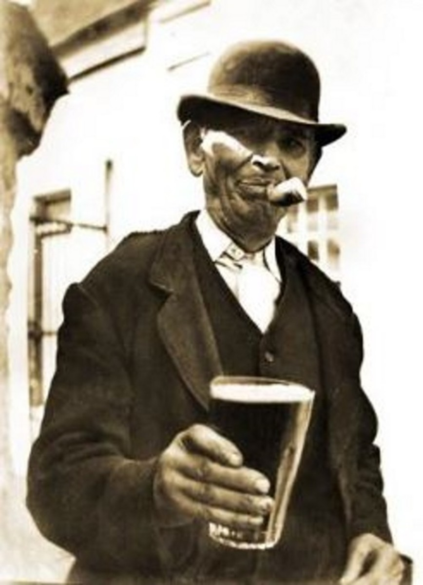 In impoverished central London, beer was a major commodity.