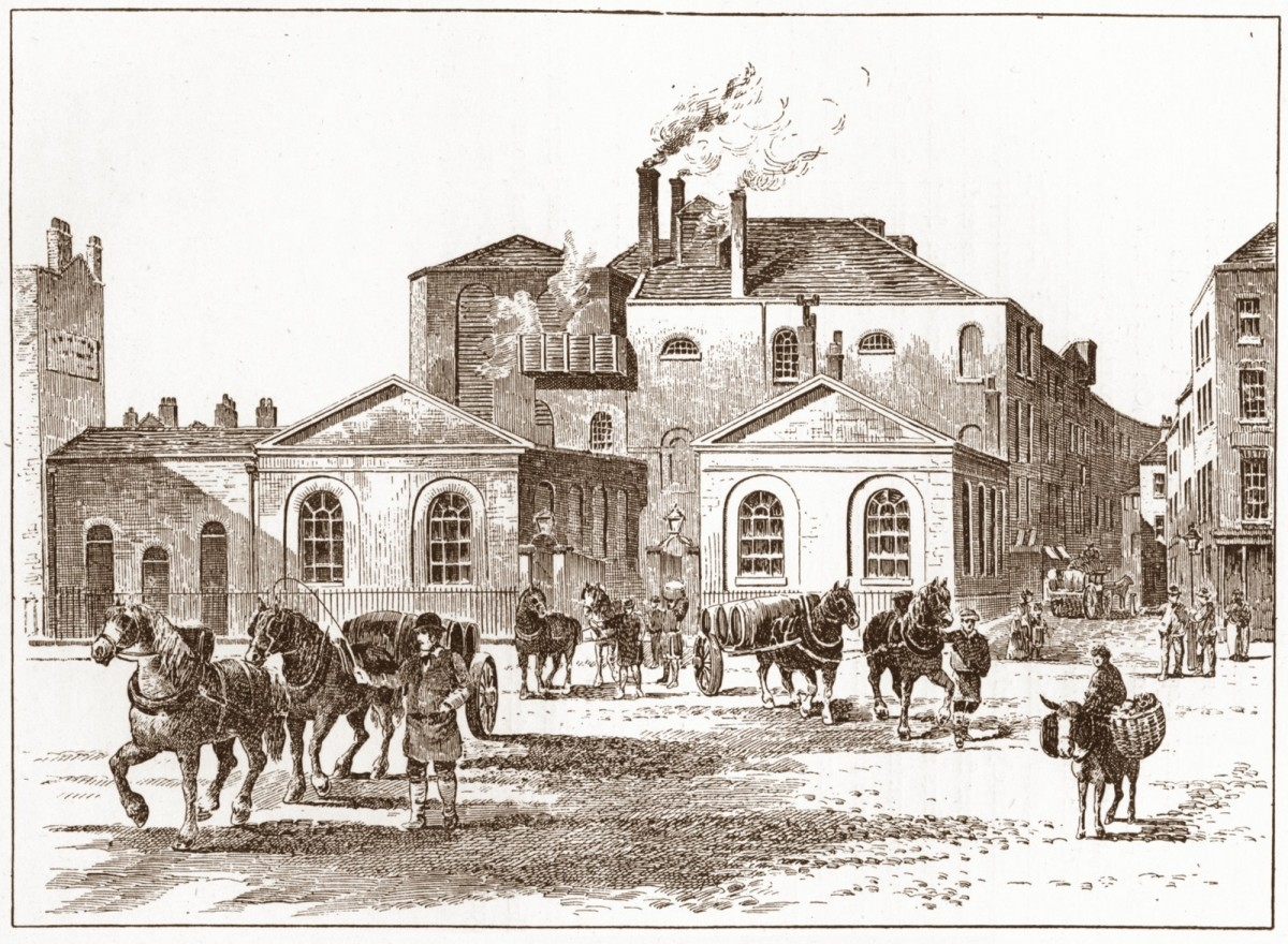 Meux's Horse Shoe Brewery