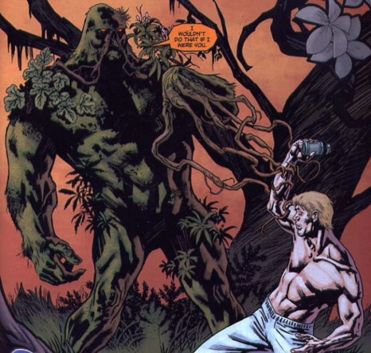 """The """"New 52"""" Swamp Thing"""