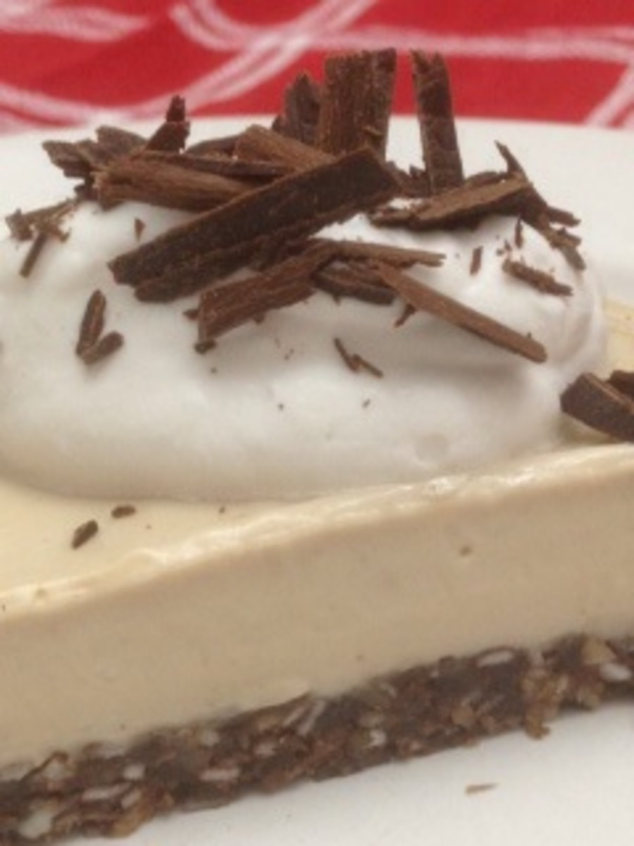 Silken Tofu Recipes: Vegan Peanut Butter Cream Pie