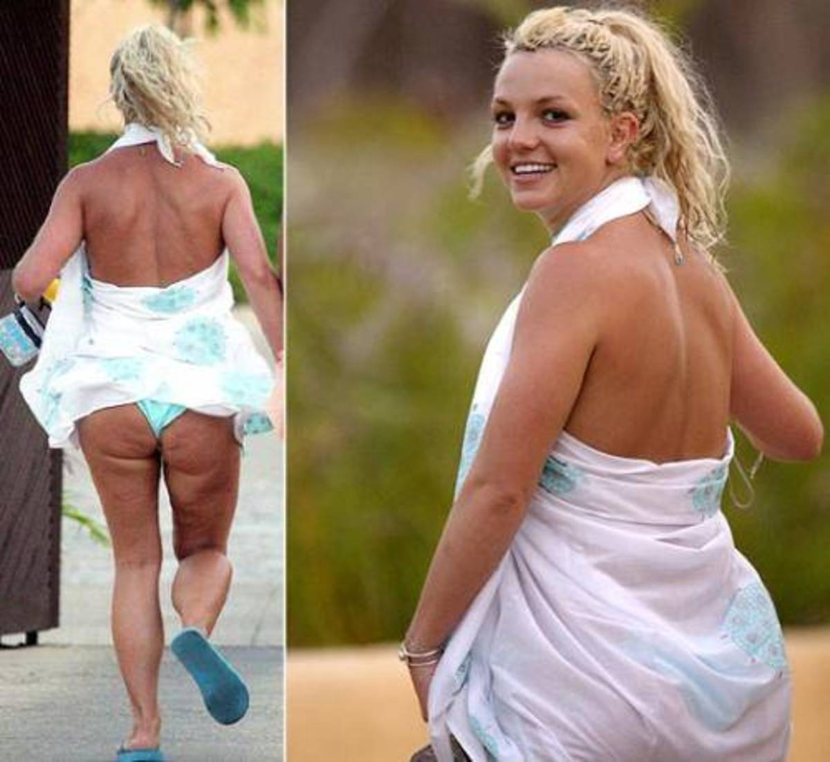 Even Brittney Spears Has Cellulite - How to get rid of cellulite