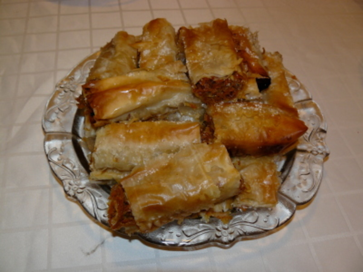 Tikvenik - the most common sweet variety of Banitza made with pumpkin