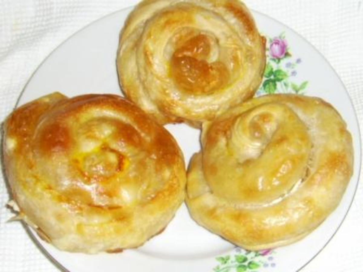 Smaller pieces of Banitza with potatoes and cheese