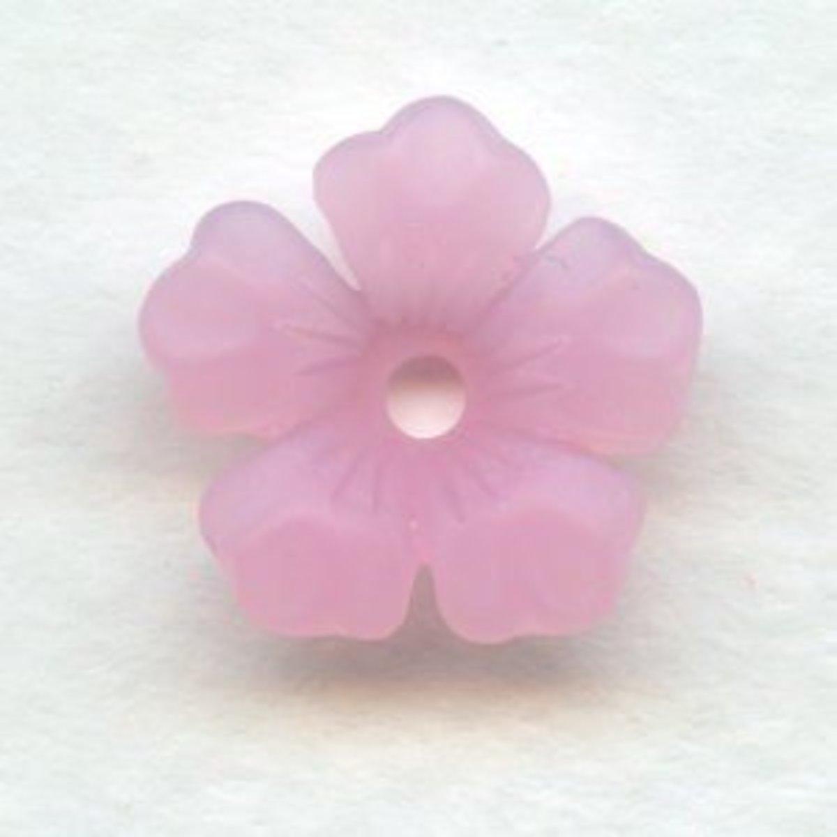 Trumpet flower bead