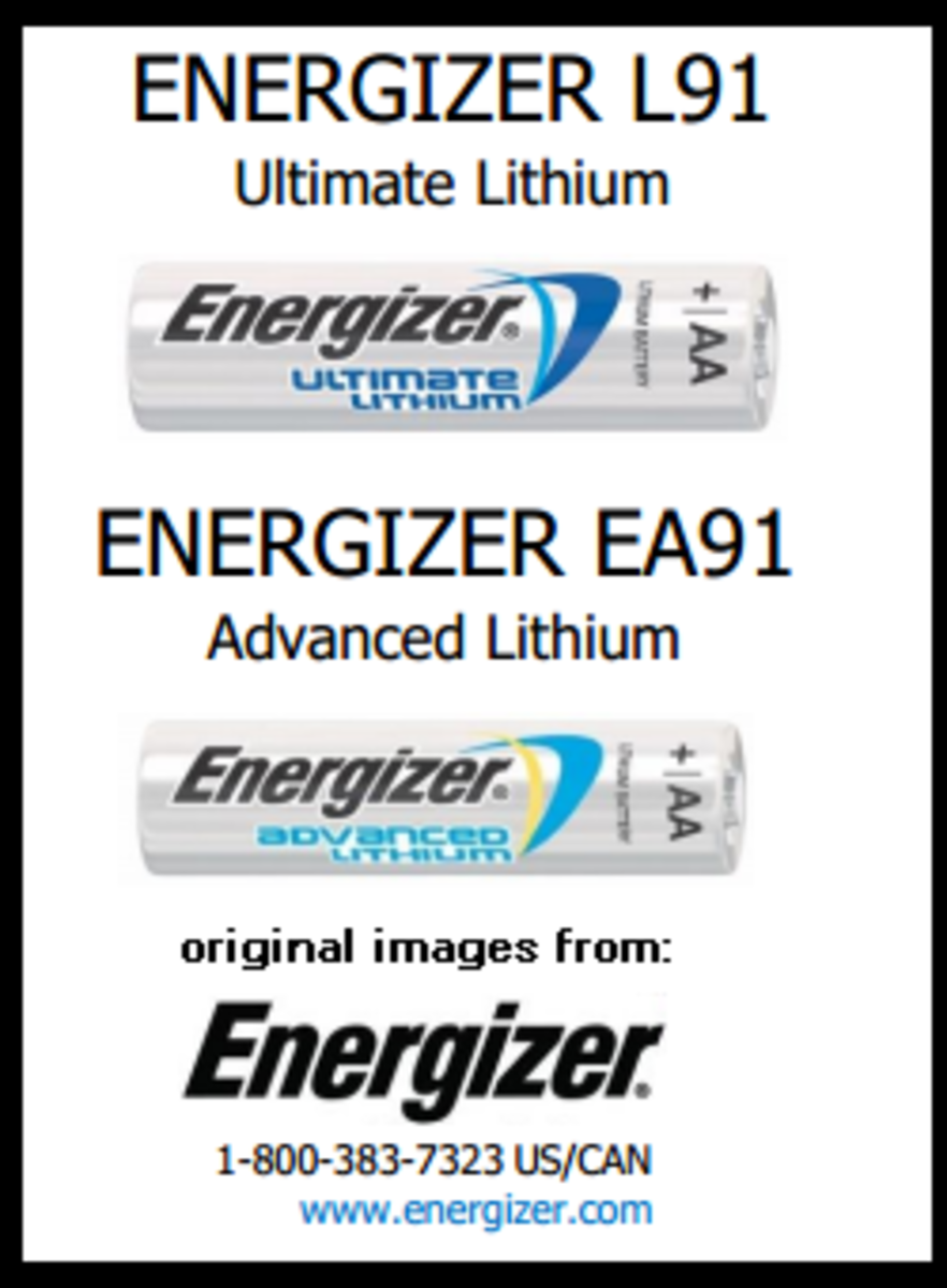 Is there a difference in lithium batteries? Energizer Advance vs. Energizer Ultimate