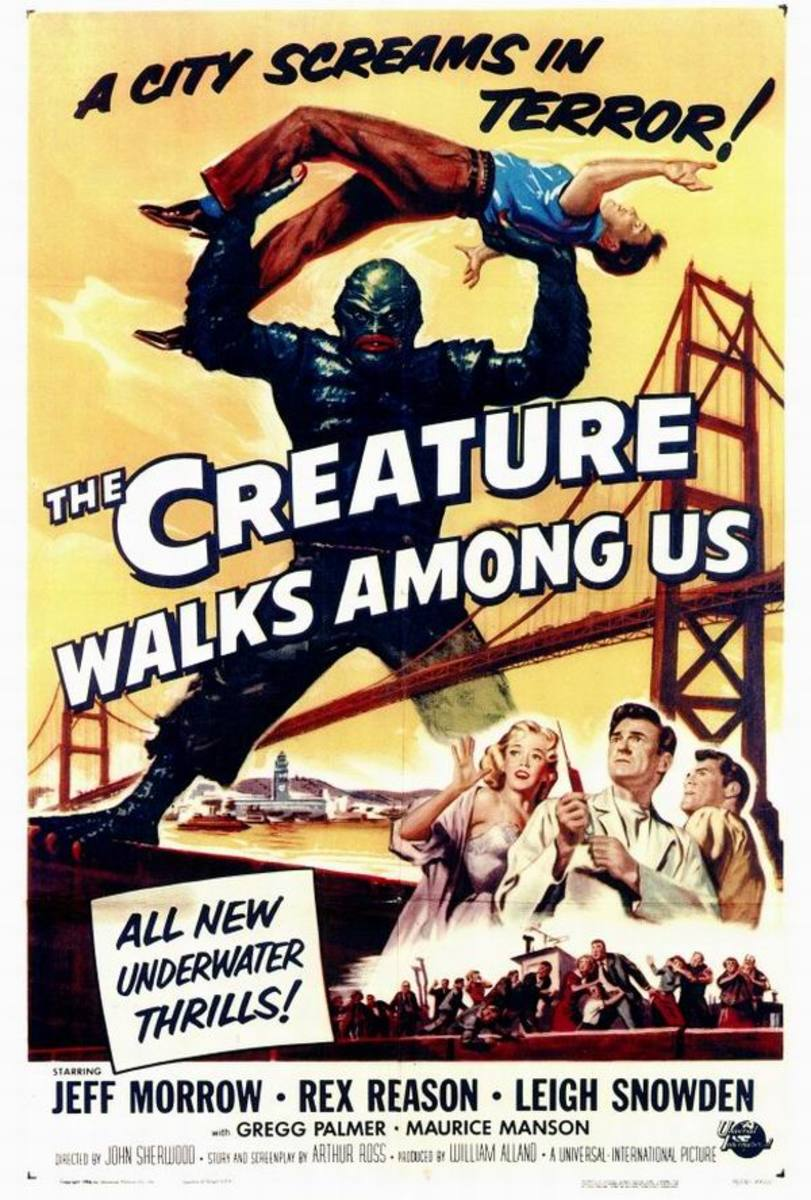 The Creature Walks Among Us (1956) art by Reynold Brown