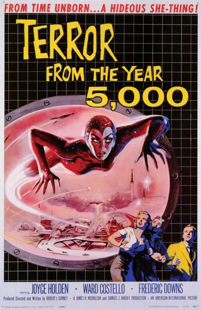 Terror from the Year 5000 (1958) art by Albert Kallis