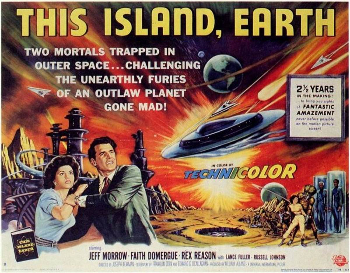 This Island Earth (1955) art by Reynold Brown