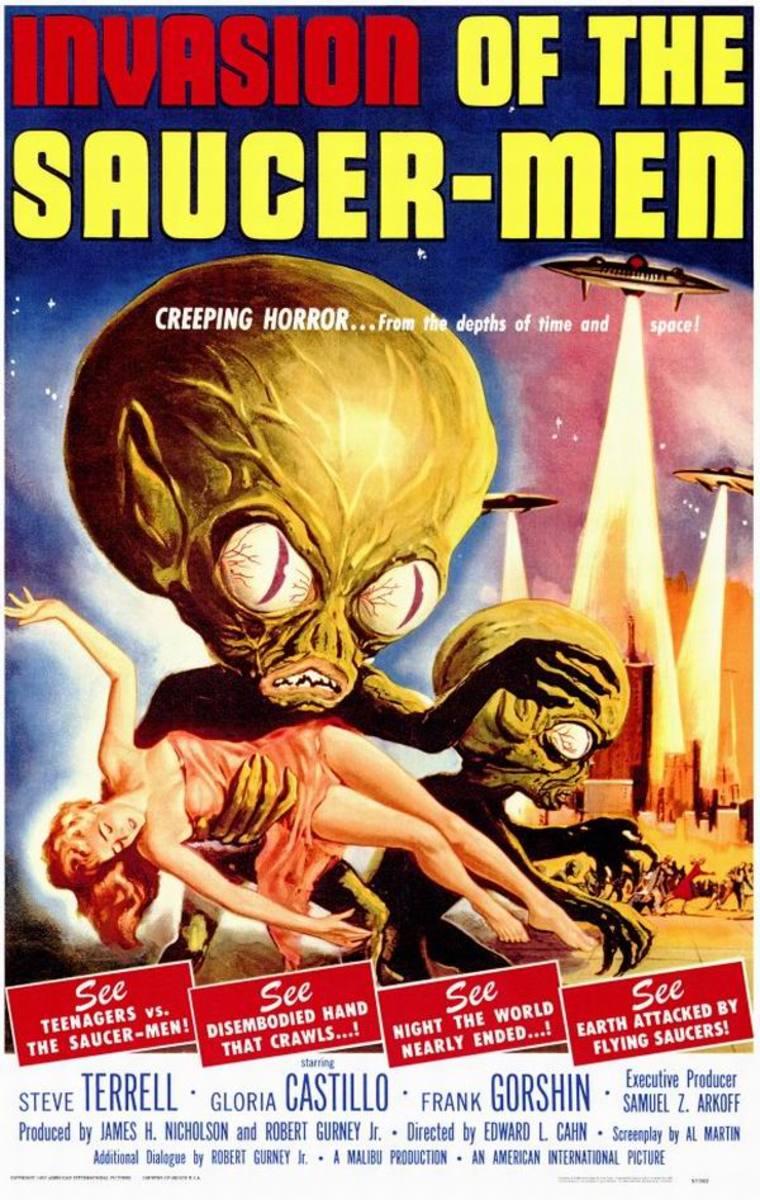 Invasion of the Saucer Men (1957) art by Albert Kallis
