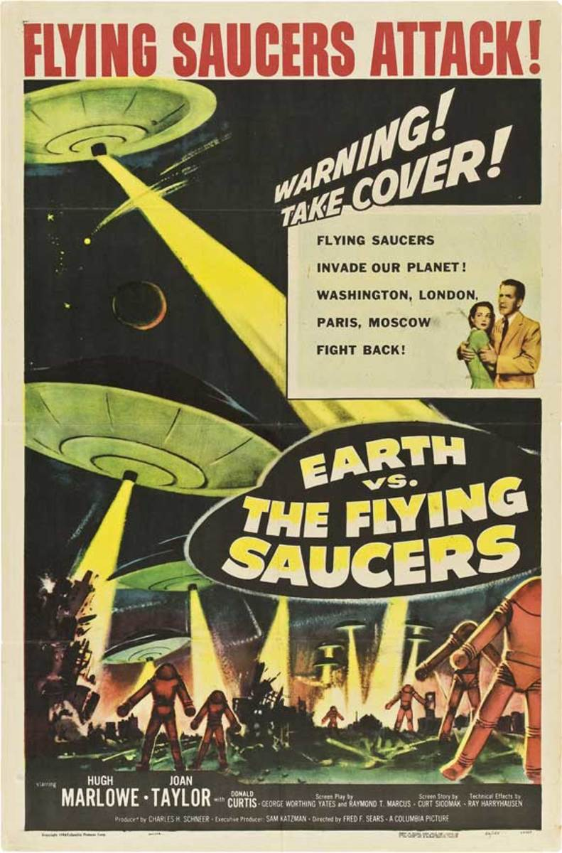 Earth vs The Flying Saucers (1956)