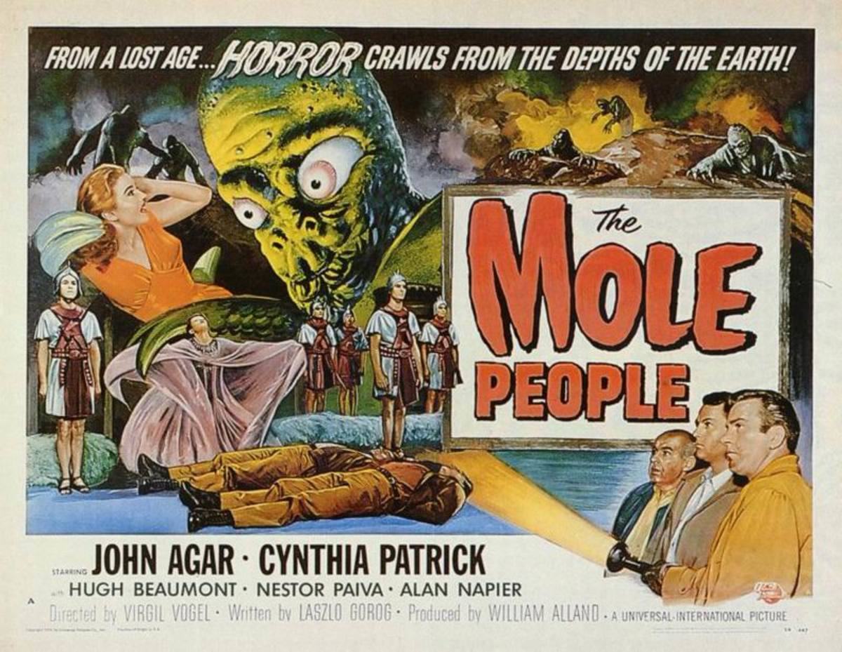 The Mole People (1956) art by Reynold Brown