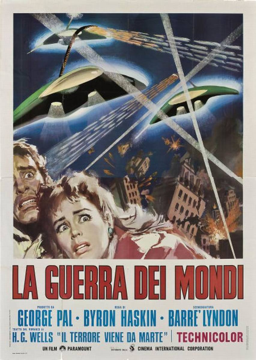 War of the Worlds (1953) Italian poster