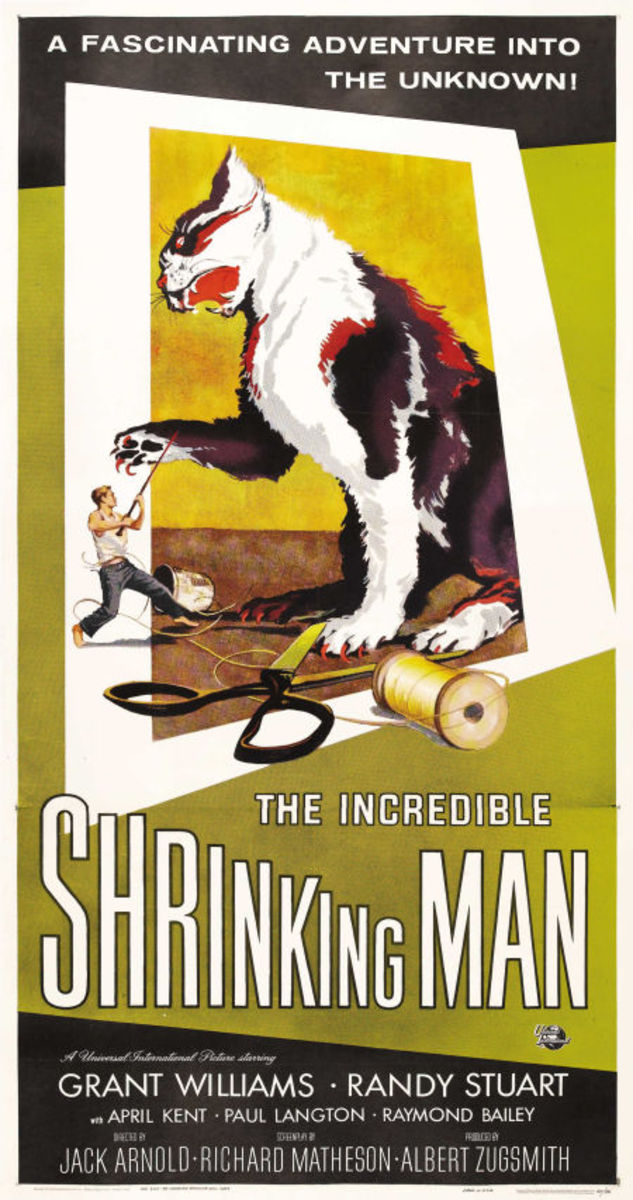 The Incredible Shrinking Man (1957) art by Reynold Brown