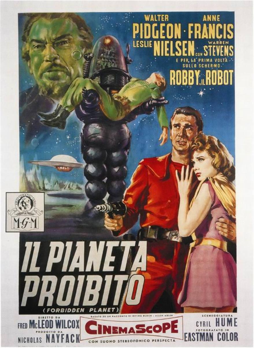 Forbidden Planet (1956) Spanish poster