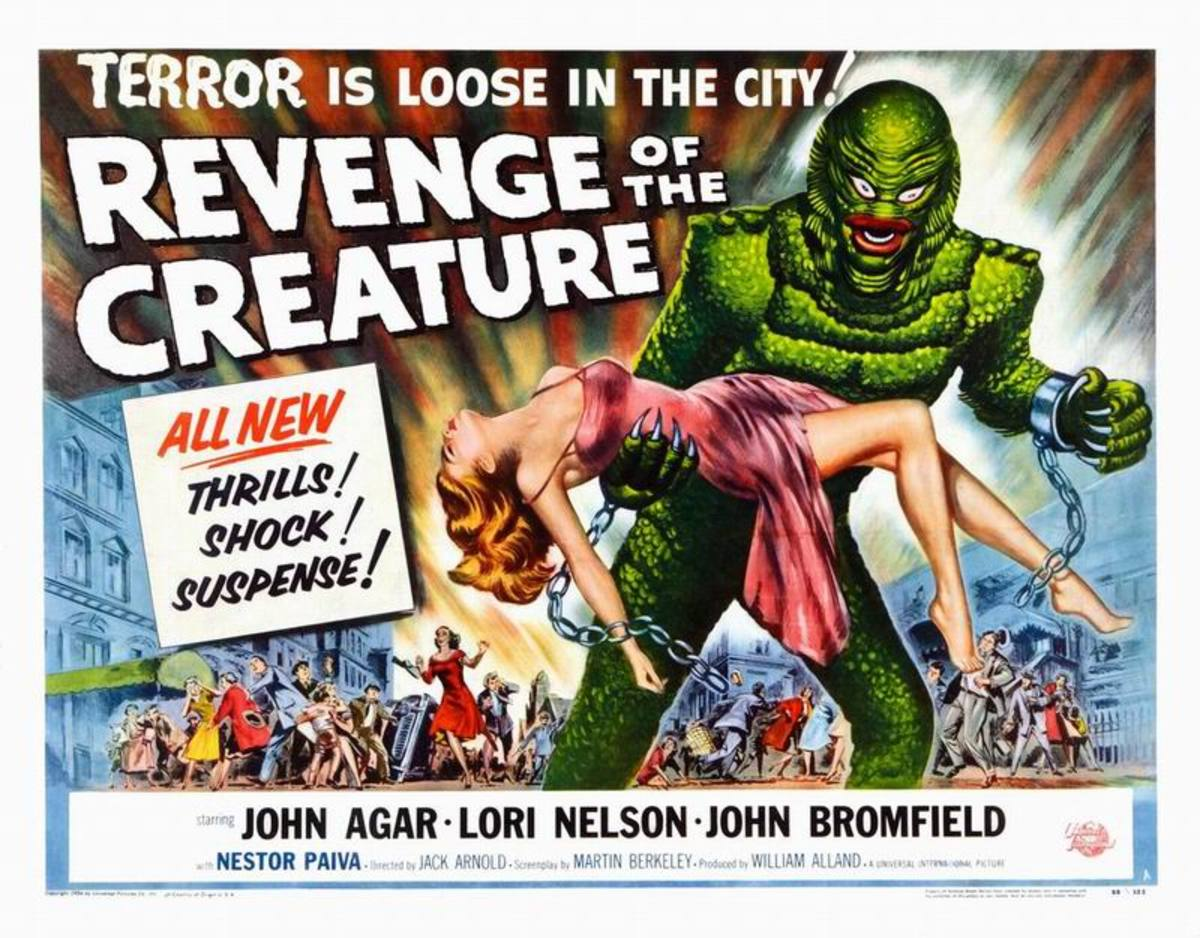 Revenge of the Creature (1954) art by Reynold Brown
