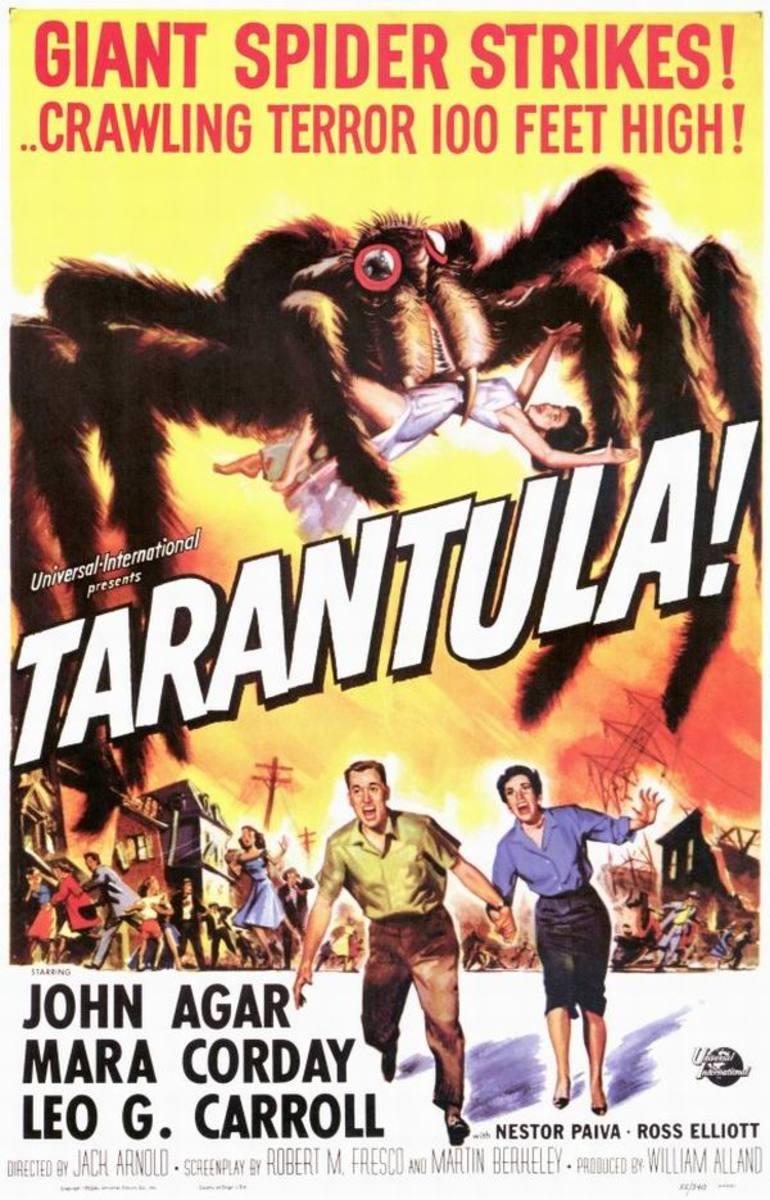 Tarantula (1955) art by Reynold Brown