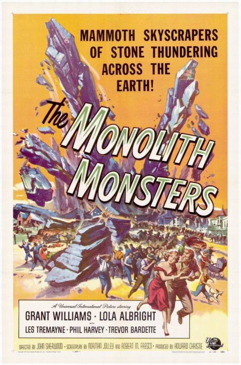 The Monolith Monsters (1957) art by Reynold Brown