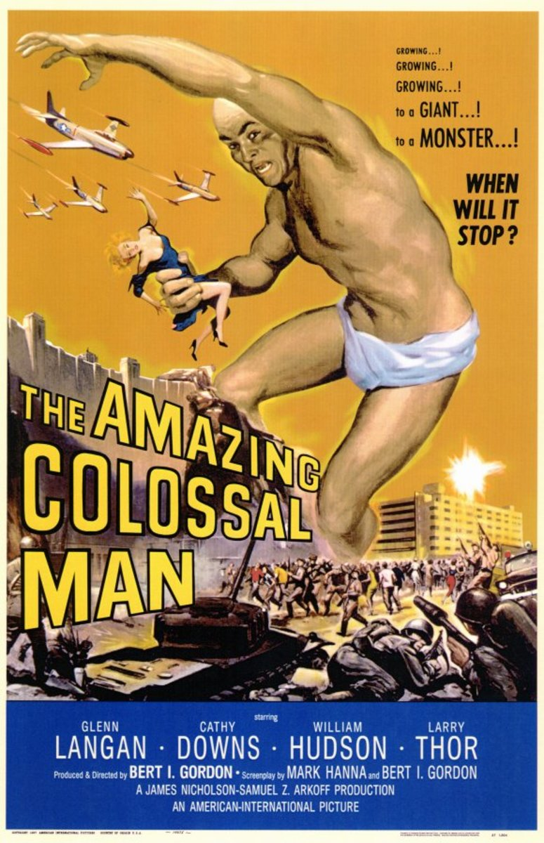 The Amazing Colossal Man (1957) art by Albert Kallis