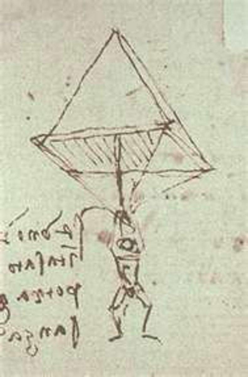 Leonardo's Parachute Design