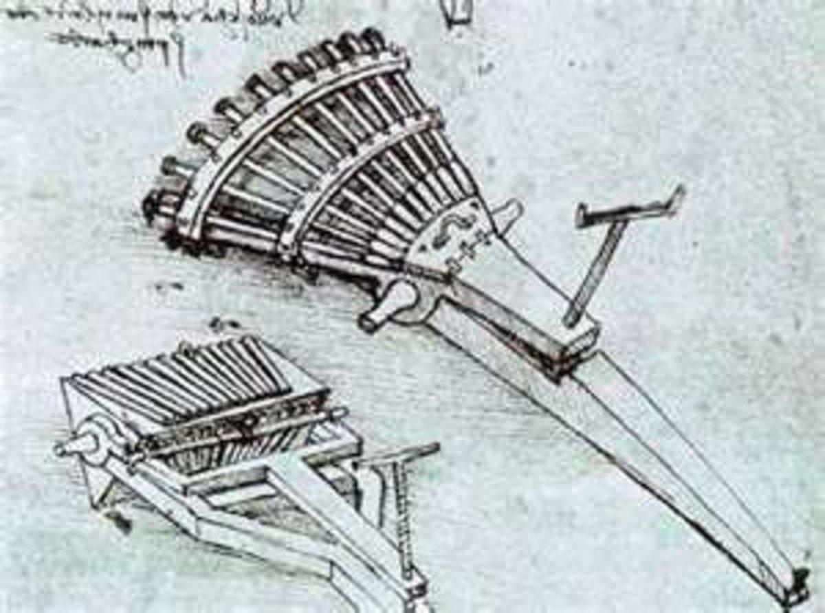 Organ Gun/Machine Gun