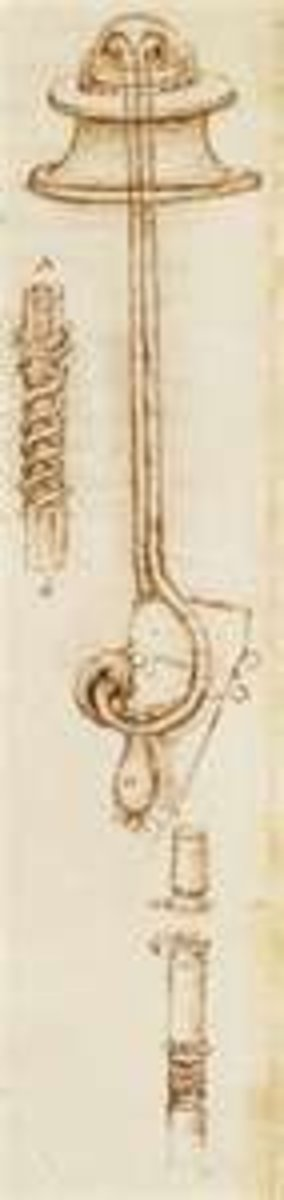 Leonardo's Design for the Breathing Apparatus for His Diving Suit