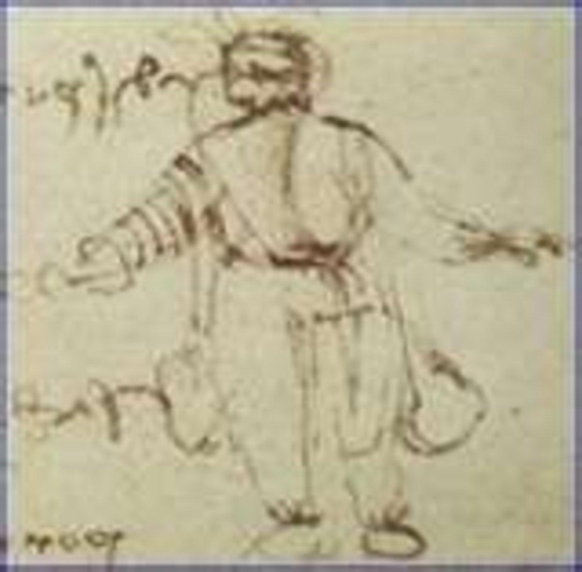 Leonardo's Design for a Diving Suit