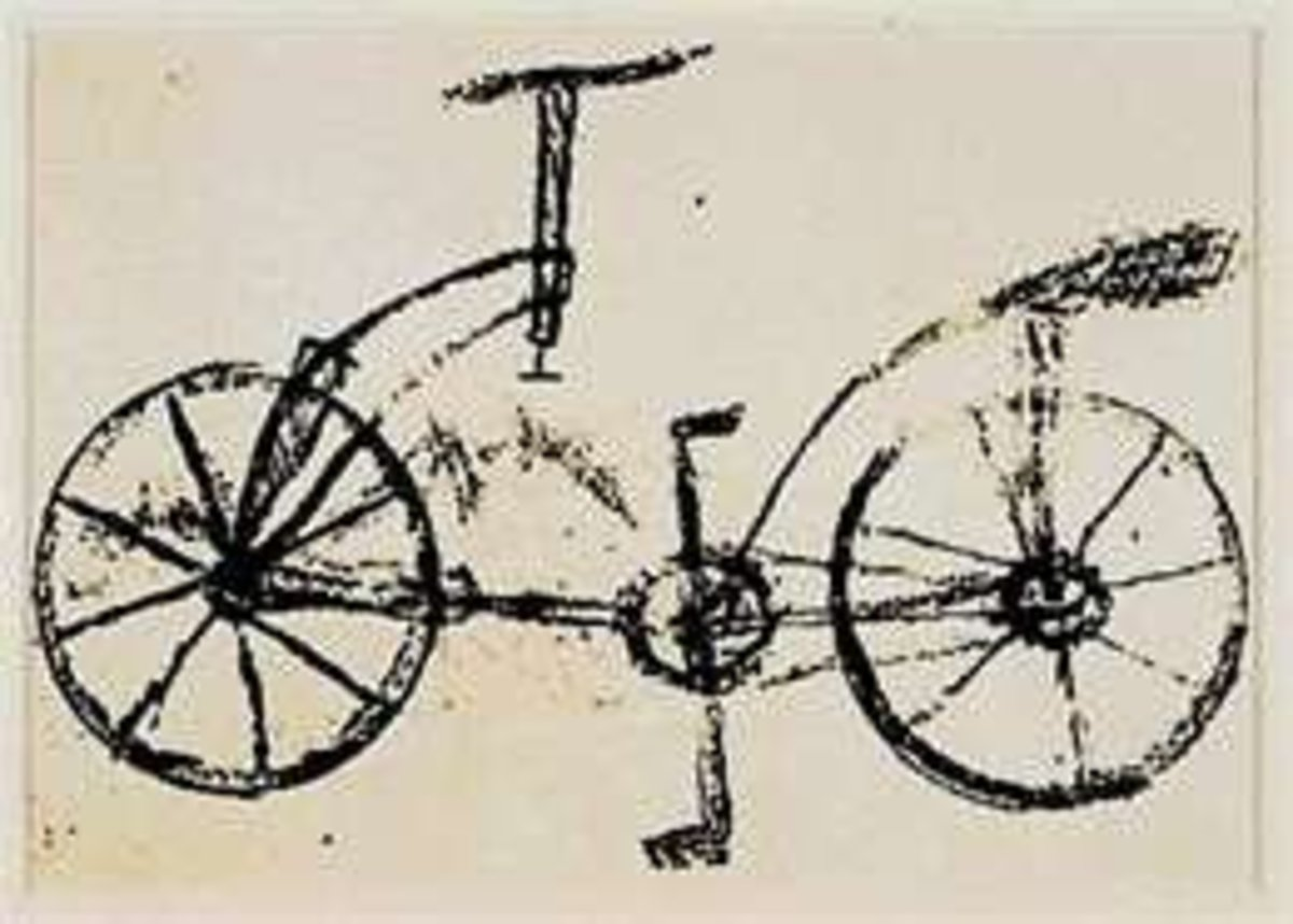 Leonardo's Design for a Bicycle