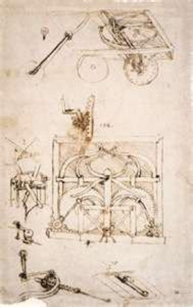 Leonardo's Design for a Car